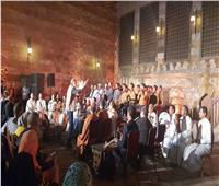 شاهد| «ابتهالات وأناشيد» في احتفالية نور النبي بقبة الغوري