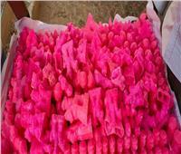 ضبط ٣٠٠ قطعة حلوى مجهولة المصدربمركز بدر