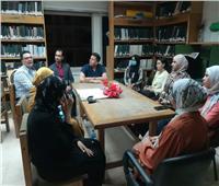 مكتبة مطرطارس في الفيوم تحتفل بذكرى أكتوبر المجيدة