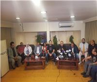 انطلاق المؤتمر الصحفي لإعلان تفاصيل انتخابات نقابة المهن التمثيلية