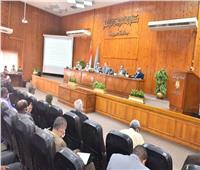 محافظ أسيوط: إزالة التعديات على أملاك الدولة ومواجهة التقلبات الجوية