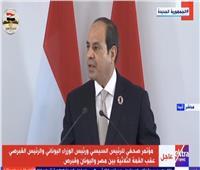 الرئيس السيسي: الربط الكهربائي مع قبرص واليونان خطوة تمهيدية للربط مع أوروبا