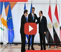 فيديوجراف| أبرز تصريحات الرئيس السيسي في أعمال القمة الثلاثية