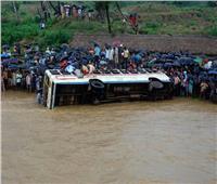 مصرع 50 شخصا في الكونغو بعد سقوط حافلتهم بأحد الأنهار