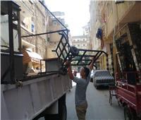 ضبط 953 حالة إشغال من المقاهي وغلق 46 محلا مخالفا بالإسكندرية