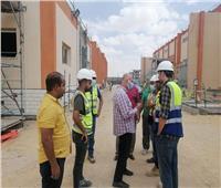 مسئولو «جهاز العاشر من رمضان» يتفقدون محطة كهرباء منطقة المطورين الجنوبية