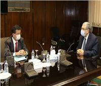 وزير الكهرباء يبحث التعاون في مشروعات الرياح مع إحدى الشركات العالمية