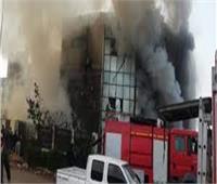 السيطرة على حريق مخلفات بكورنيش النيل بأبوالنمرس