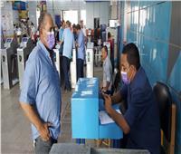مترو الأنفاق:استمرار تسجيل وتطعيم الموظفين بلقاحات كورونا | صور