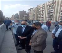 محافظ القاهرة يتفقد إزالات محور عدلي منصور