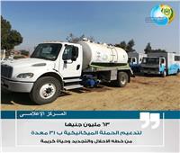 «مياه أسيوط» تستعد للشتاء بـ31 معدة تطهير وسيارة شفط
