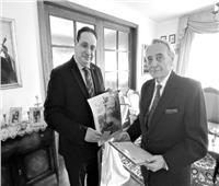السفارة المصرية بسلوفاكياتكرم المستشرق كارول سوربى