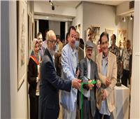 افتتاح معرض «حصاد» للفنان سامي البلشي بجاليري ضي   صور