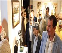 افتتاح معرض الفنان مصطفى بط «القرية والأسطورة» بأتيليه العرب  صور