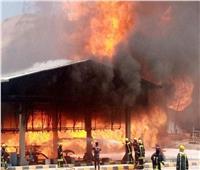 إخماد حريق هائل والسيطرة على تسرب غازي بالأردن