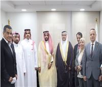 رئيس البرلمان العربي يستقبل أمينًا مساعدًا بمجلس التعاون الخليجي