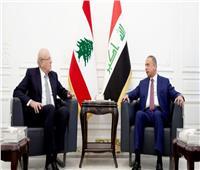 انطلاق جلسة المباحثات بين رئيس وزراء لبنان ونظيره العراقي ببغداد
