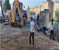 الاحتلال الإسرائيلي يستأنف أعمال تجريف المقبرة اليوسفية بالقدس