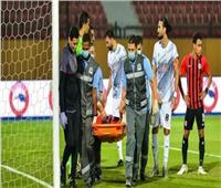 12 غرزة لسعد سمير بعد الإصابة أمام فاركو
