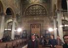 """بالفيديو..بدء نقل جثامين شهداء الكنيسة المرقسية لـ""""دير مارمينا"""" بالإسكندرية"""