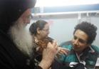الأنبا بولا يزور مصابي كنيسة طنطا في المستشفيات