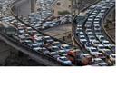 المرور: كثافات على كافة المحاور والطرق الرئيسية بالقاهرة..فيديو