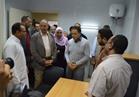 وزير الصحة ومحافظ البحر الأحمر يتفقدان مستشفى القصير الجديد