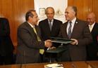 البنك الأهلي يوقع بروتوكول تعاون مع الري لإنشاء ممشى ومرسى عائم للمراكب النيلية