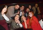 صور.. فيفي عبده وأحمد سعد وريم البارودي يحتفلون بعرض «على وضعك»