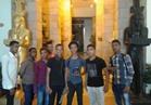 إقبال على متحف النيل بأسوان احتفالا بشم النسيم
