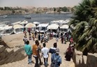 حدائق أسوان كاملة العدد في شم النسيم.. وإقبال كبير على »المراكب النيلية«