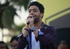 صور.. أحمد جمال يشعل «حفل الربيع» بأجمل أغانيه