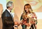 صور.. «مهرجان الساقية» يكرم ليلى علوي عن مشوارها الفني