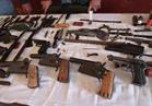 ضبط مزارع بحوزته بندقية خرطوش و 42 طلقة نارية بقويسنا