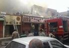 السيطرة على حريق نشب بمنتجع على طريق القاهرة الصحراوي