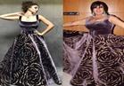 """فيفي عبده تنافس ميريام فارس بـ «فستان التسعينات» ونشطاء .. """"أيهما أجمل"""""""