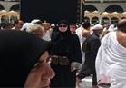غادة عبد الرازق تؤدي مناسك العُمرة