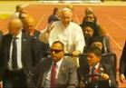 فيديو..سيولة مرورية على كافة الطرق والمحاور الرئيسية تزامنا مع زيارة البابا