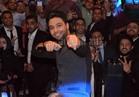 صور.. أحمد جمال يغني للهضبة والكينج بحفل «مدينة نصر»