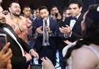صور.. حمادة هلال وأحمد سعد والليثي يشعلون زفاف «السيد ودنيا»
