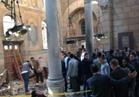 فيديو: لحظة وقوع انفجار كنيسة مارجرجس