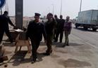 مصادرة عربات الفول بدمياط