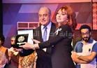صور.. تكريم سمير خفاجي ونبيلة عبيد بـ«الأكاديمية العربية»