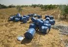 الجيش الثاني الميداني يدمر كمية كبيرة من المواد المتفجرة غرب رفح