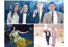 صور.. الليثي وصافينار يحييان زفاف «خالد وروزانا»