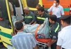 مصرع شخص وإصابة ٨ في انقلاب أتوبيس رحلات من أعلى الدائري