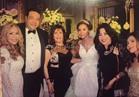 صور| الليثي وانستازيا ونجوى فؤاد يحتفلون بزفاف «محمد ودينا»