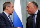 سامح شكري يسلم نظيره الروسي رسالة من السيسي لبوتين