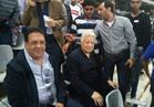 مرتضي منصور يؤازر الزمالك أمام كابس يونايتد بستاد برج العرب