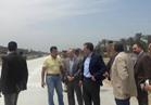 وزير النقل يواصل جولته بتفقد طريق كفر البطيخ - الميناء بدمياط